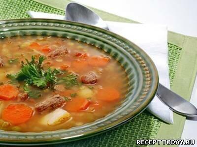Куриный суп по-португальски