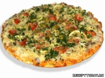 Пицца «Рыбка»