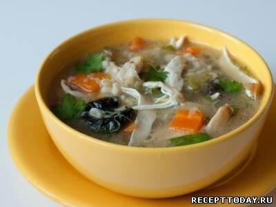 Английский куриный суп