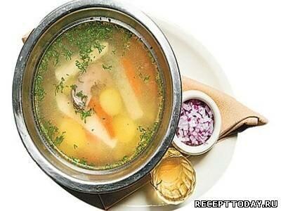 Луковый суп со специями