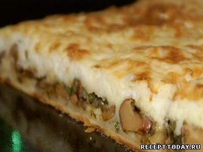 Тесто на кефире для пирога