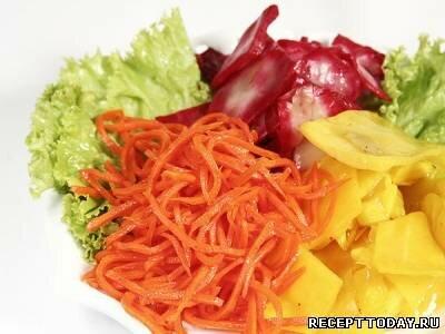 Корейские салаты из капусты