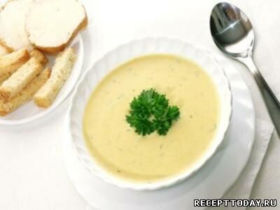 Сырный суп-пюре