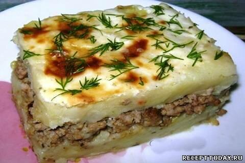 Картофельная запеканка рецепты с фото пошагово