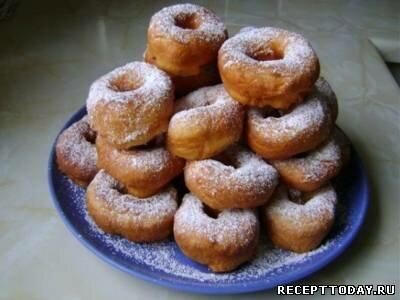 Жидкое тесто для пончиков