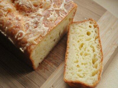 Сырный кекс в хлебопечке