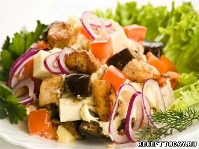 Рецепт Салат с курицей грузинский