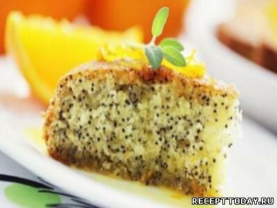 Рецепт Маковый пирог без муки