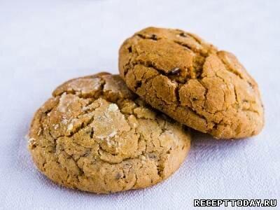 Пышное печенье с мюсли