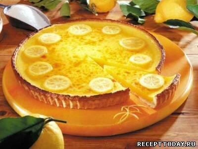 Пирог Лимонный французский