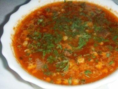 Рецепт Постный суп харчо