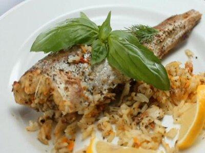 Рыба в духовке на 8 Марта