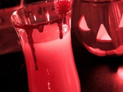 Алкогольный коктейль на Хэллоуин