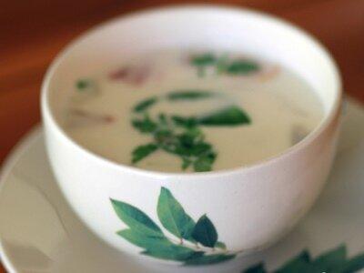 Японский суп с кокосовым молоком